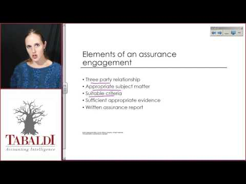 AUE2601-Topic 1-Assurance and non-assurance engagements