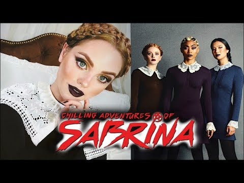 The WEIRD SISTERS Makeup & Hair Tutorial | Chilling Adventures of Sabrina (CAOS)