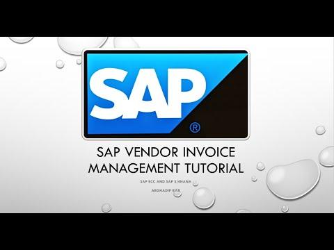 SAP Opentext Vendor Invoice Management Process - YouTube