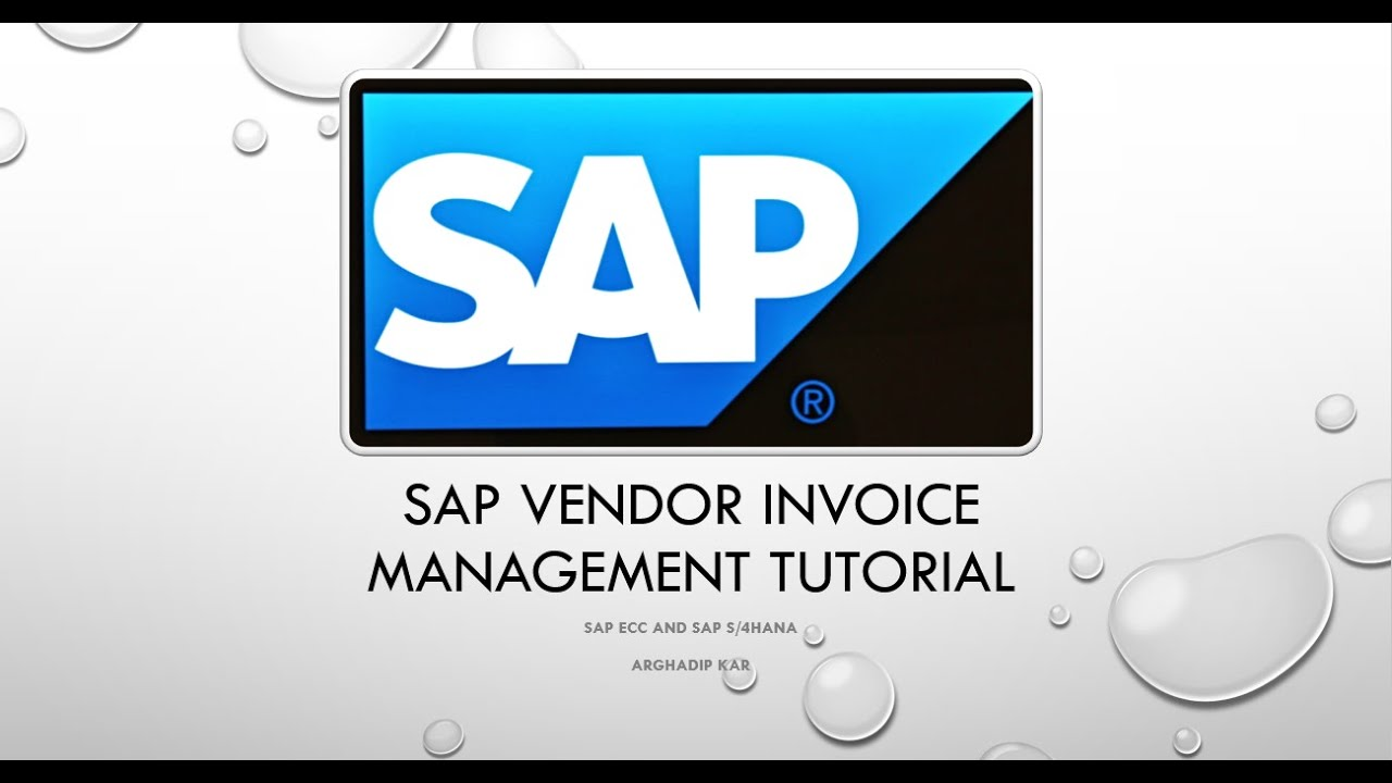 Overdue Invoice Letter Sample Pdf Sap Workflow Vendor Invoice Management Process  Youtube Vendor Invoice Pdf with Create Invoices Free Excel Sap Workflow Vendor Invoice Management Process Return Items To Walmart Without Receipt Word