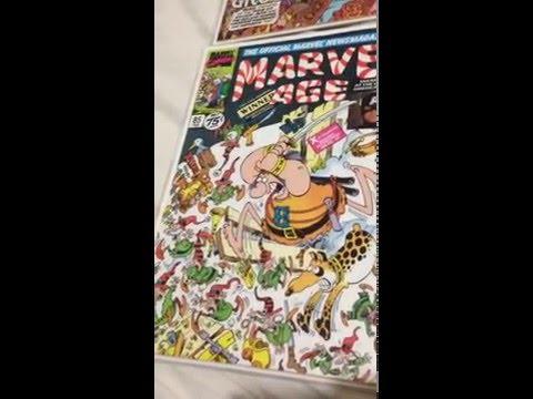 Comic Book Geek / Nerd Episode 5 Sergio Aragones Groo Marvel Age