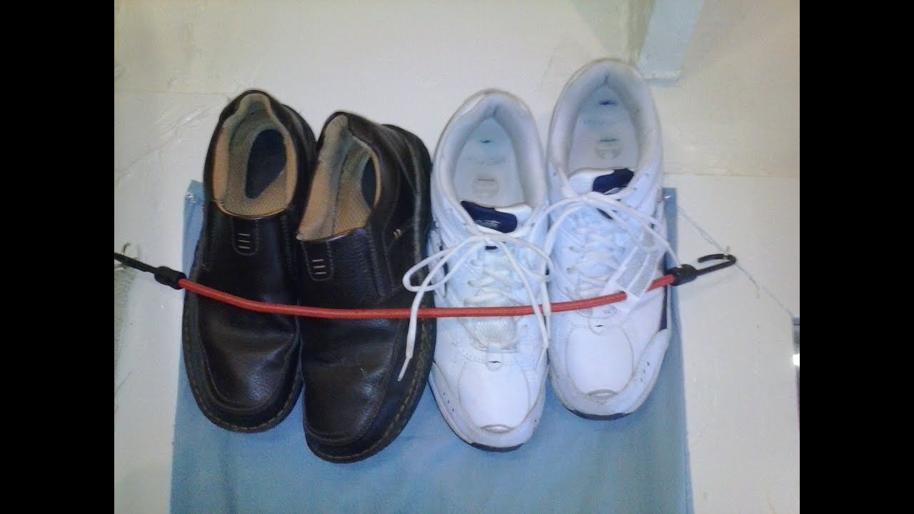 d i y shoe rack in minutes youtube