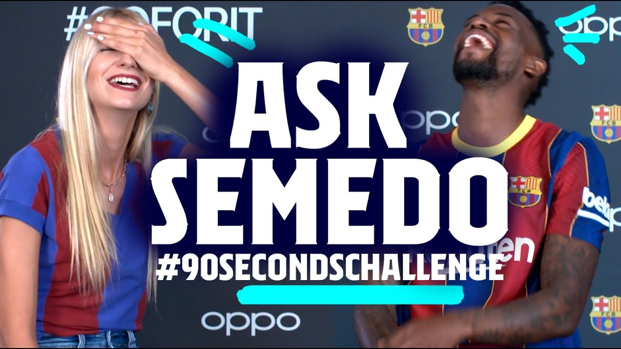THE APP YOU USE THE MOST??   NELSON SEMEDO #90secondschallenge