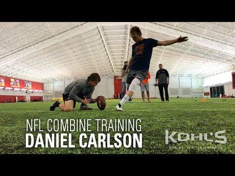 Daniel Carlson | NFL Combine Training | Kohl