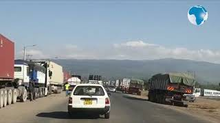 Situation eases at Salgaa where trailers pack with minimal movement along the highways