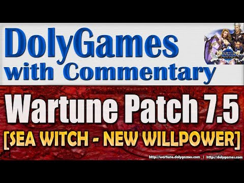 Wartune Patch 7.5 - SEA WITCH Review NEW WILLPOWER | COSMOS DolyGames