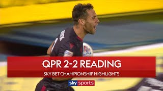 Reading fight back to earn draw! | QPR 2-2 Reading | Sky Bet Championship Highlights