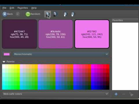Agave -color scheme selector