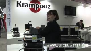 Прижимные грили и вафельницы Krampouz на ПИР 2011