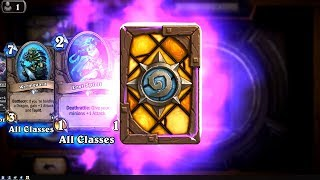 Totem Cruncher and Festeroot Hulk - The Witchwood Hearthstone epic and rare card pack opening