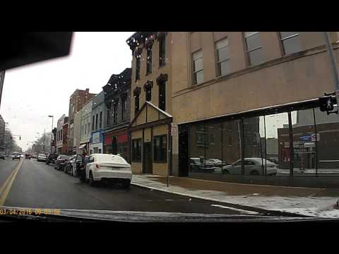 Driving  downtown Toledo Ohio Mar 4, 2016 0902hrs