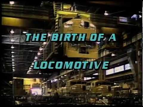GM Locomotives In Canada