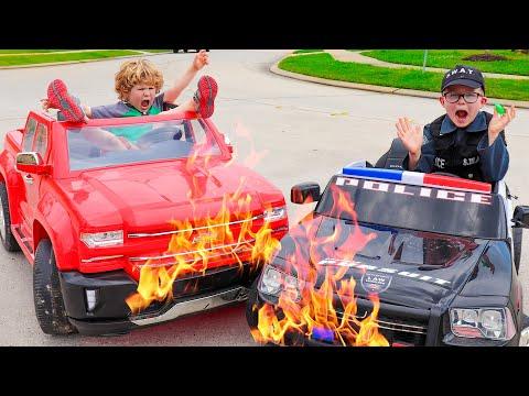 Power Wheels Cars For Sale   MONSTER TRUCKS   Videos For Kids