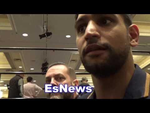 Amir Khan On Floyd Mayweather Saying Conor McGregor Only Fight He Wants EsNews Boxing