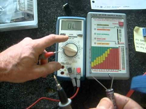 How to test capacitors