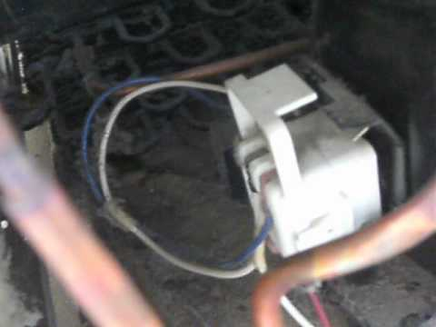 Sound of a bad start relay on a refrigerator compressor  Part 1