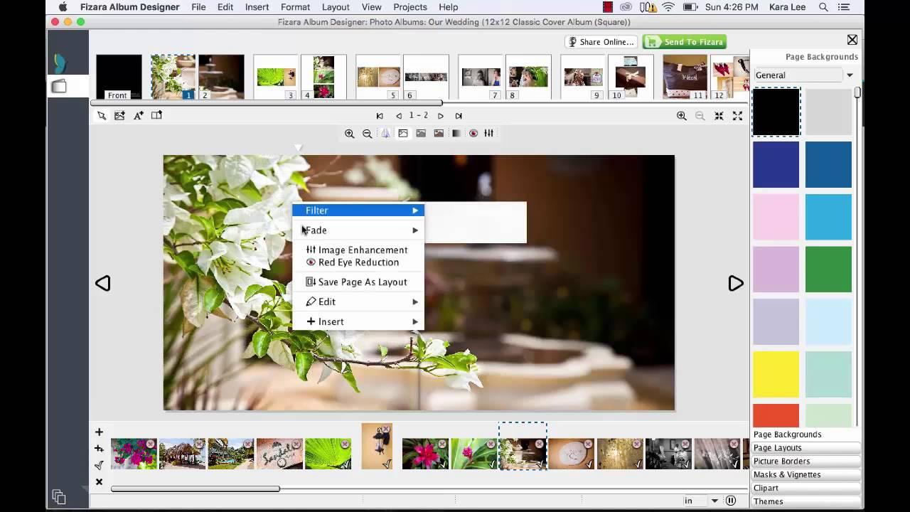 photo album design online