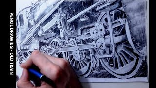 DRAWING A TRAIN - TIME LAPSE
