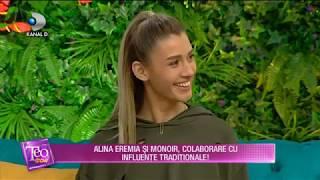 Teo Show (07.02.2018) - Alina Eremia, despre primul pictorial cu iubitul! Partea I