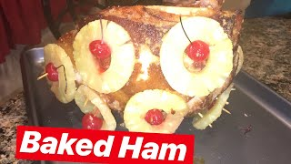 How to Make: Baked Decorated Ham