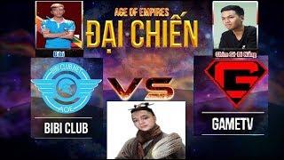AoE - 44 Random - BiBi Club vs GameTV - Khi BiBi thèm món Chim sẻ chiên giòn - BLV Toạc Cần Cẩu