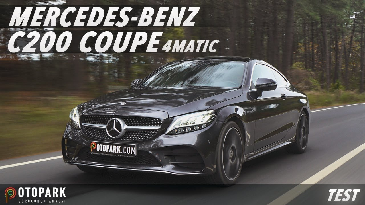 Mercedes-Benz C200 Coupe 4MATIC | TEST - YouTube