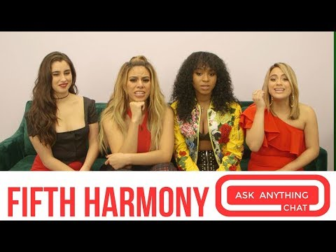 Fifth Harmony Talk About Dinah Being Fine-ah & Becky G Being On Their Tour. Part 1