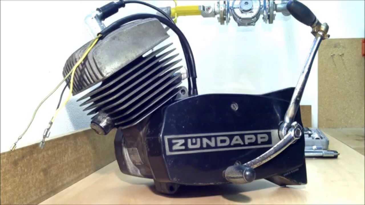Super ZÜNDAPP-Motor zerlegen / reparieren / überholen Teil 01 - YouTube WL-39