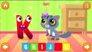🎓 Английский алфавит. Interactive alphabet. English alphabet. ABC. Мультик для детей (0+)