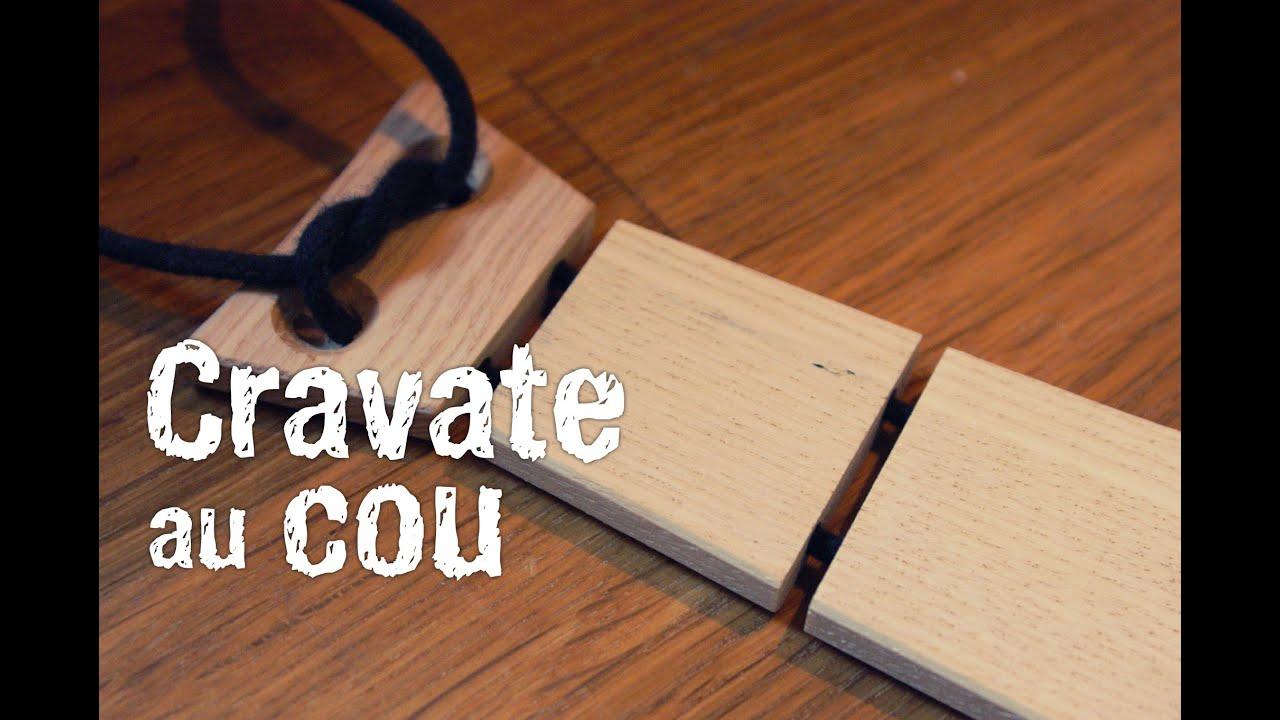 fabrication d 39 une cravate en bois youtube. Black Bedroom Furniture Sets. Home Design Ideas