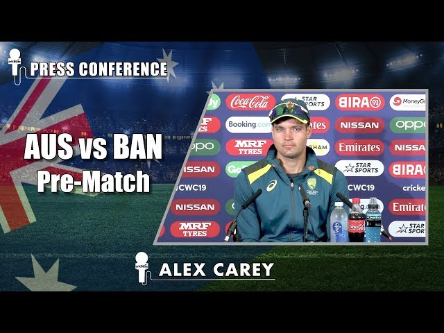 We are not scared of Bangladesh's spin attack - Alex Carey