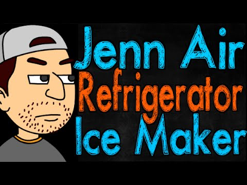Jenn Air Refrigerator Ice Maker
