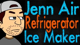 jenn air refrigerator ice maker troubleshooting
