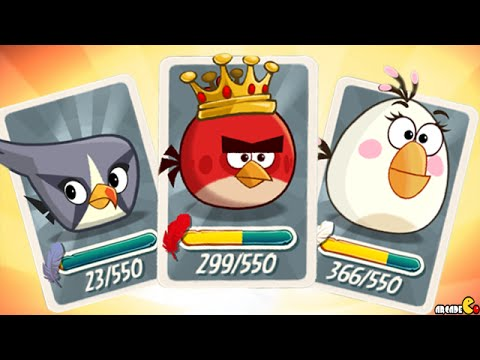 Angry Birds 2 - Exclusive Tutor Bird Mighty Eagle Spell Unlocked Level 134!