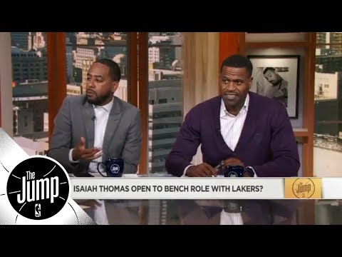Isaiah Thomas open to coming off the bench for Lakers?   The Jump   ESPN