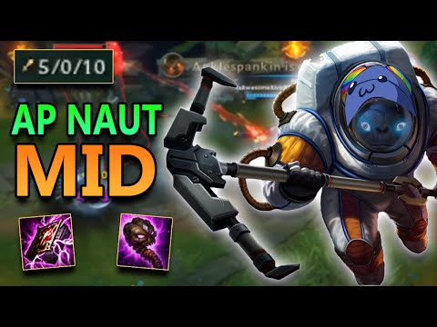 FULL AP NAUTILUS MID IS BROKEN - League of Legends Commentary