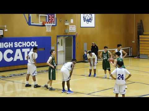 SHC vs Oakland High - JV Boys - 2017-18 Pre-season Basketball Tournament
