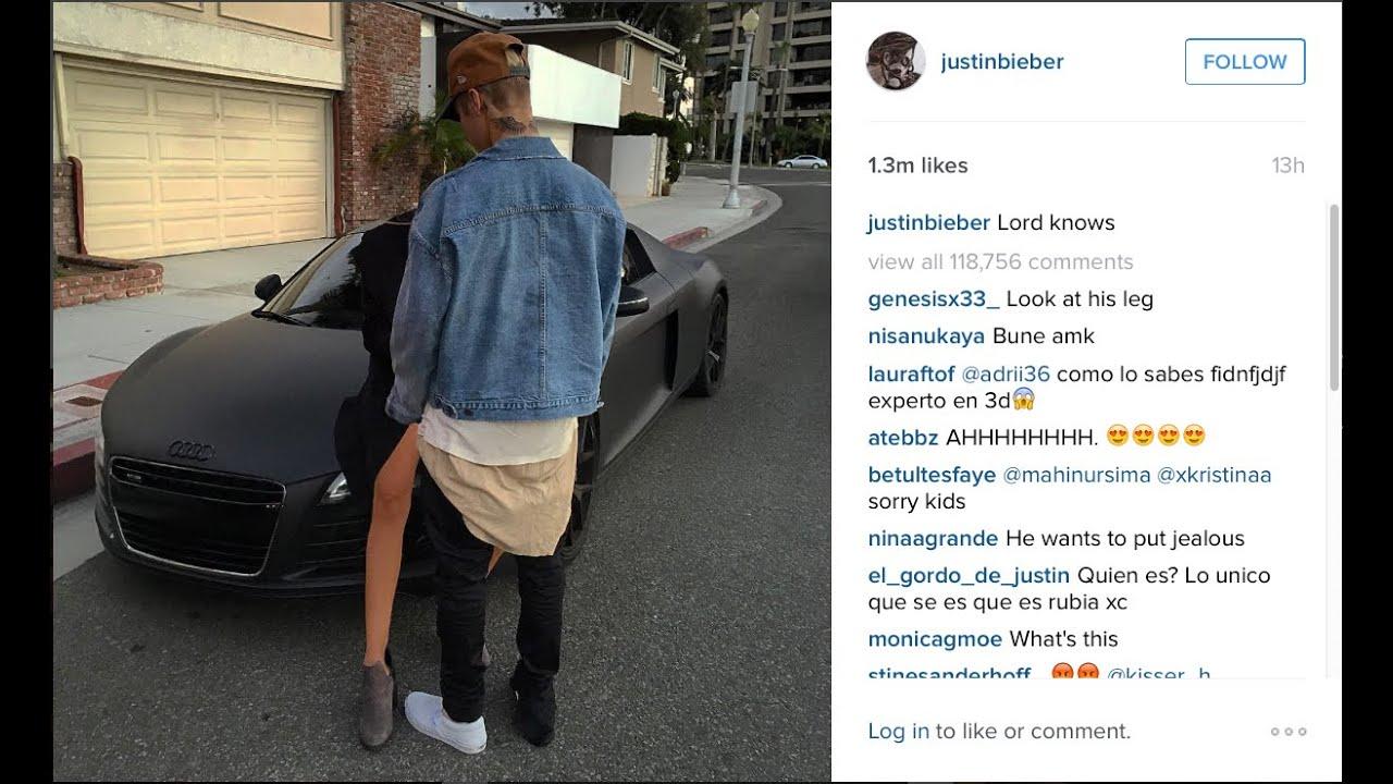 Is Justin Bieber's Mystery Girl Supposed to be Kourtney Kardashian?   Splash News TV