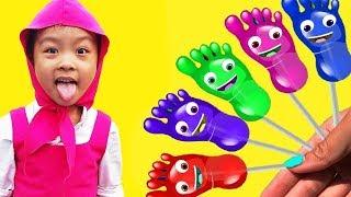 Kinderlieder und lernen Farben lernen Farben Baby spielen Spielzeug Entertainment Kinderreime #29
