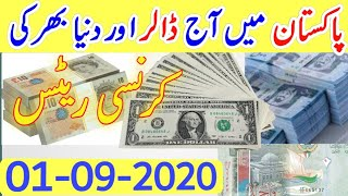 Today US Dollar Rate in Pakistan|Gold Latest News PKR to US Dollar Gold Price in Pakistan|01-09-2020