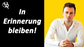 Gambar cover Rhetorik-Seminar (4): Beim Publikum in Erinnerung bleiben!