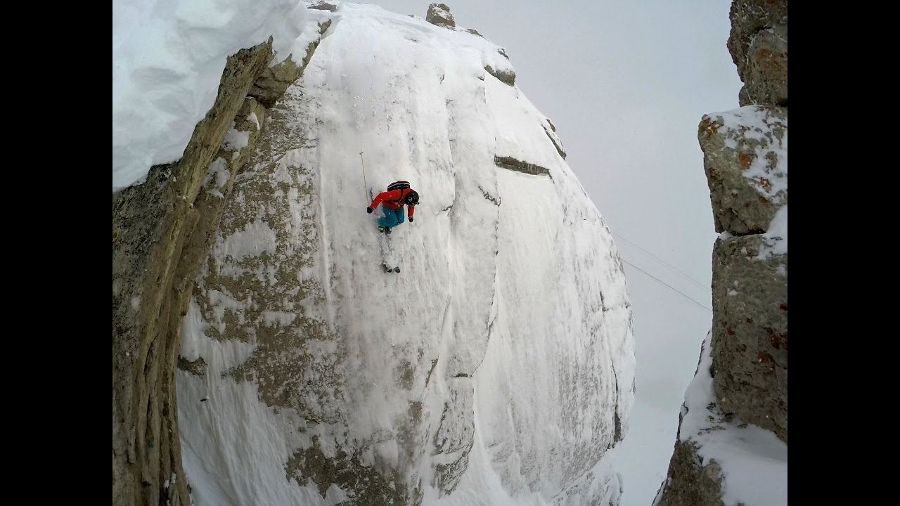 S&S Wallride at Jackson Hole, 85 Foot Cliff Front Flip, Drone Powder Skiing with Owen Leeper