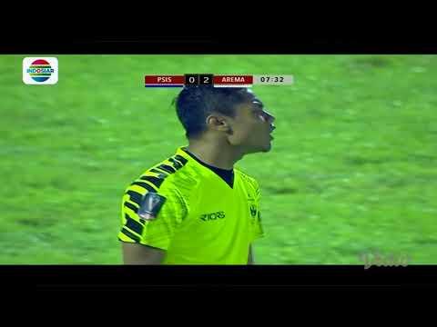Piala Presiden 2018: Gol Johan Alfarizi PSIS (0) vs Arema FC (2)