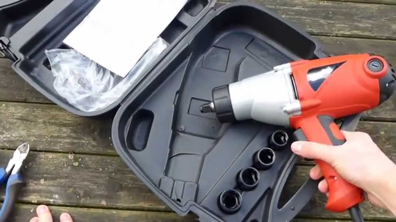 Clarke Electric Impact Wrench 1 2 Unboxing Review
