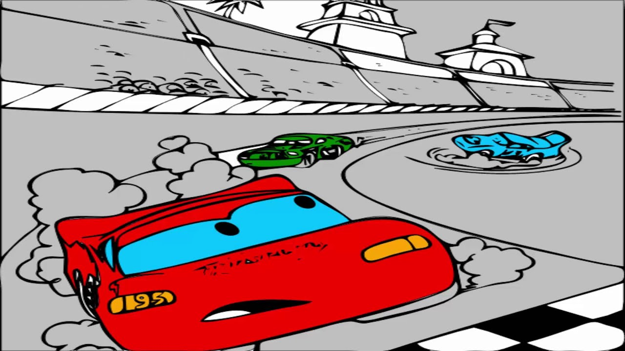 disney cars coloring pages coloring pages for kids youtube