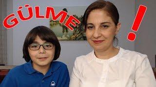 Download lagu ANNEM İLE CEZALI GÜLMEME CHALLENGE