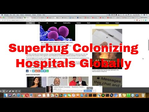 Superbug Colonizing Hospitals All Over The Globe