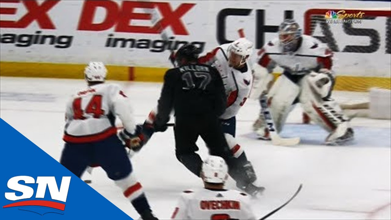 Alex Killorn Bullies Way To Front Of Net Scores Past Braden Holtby Gentnews