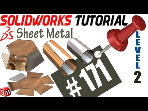 171 Solidworks Sheet Metal Tutorial Insert Bends No