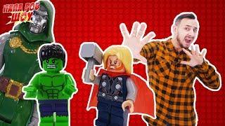 Папа Роб Шоу: Сборка LEGO JUNGLE. Часть 3